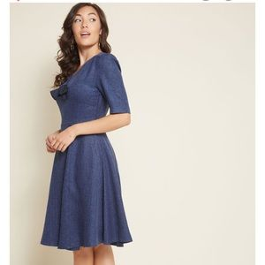 💙NWT Vintage inspired A-line dress